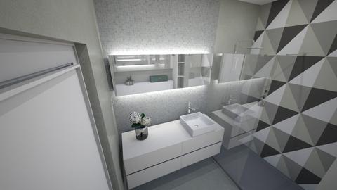 grey bathroom - Modern - Bathroom - by bianca boeriu