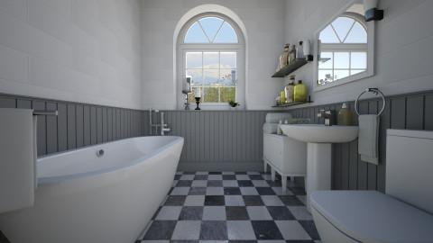 Traditional Virtual - Bathroom - by Tuija