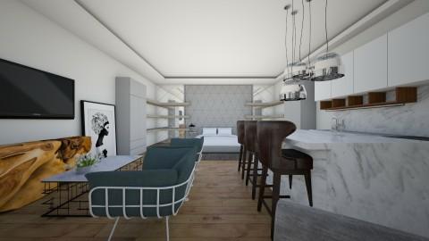 Open Bedroom  - Bedroom - by Hadar David hay