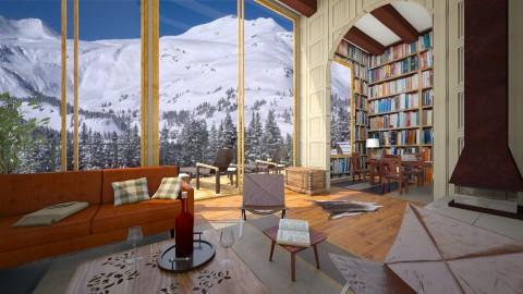 Apsen Loft - Living room - by whodat1910