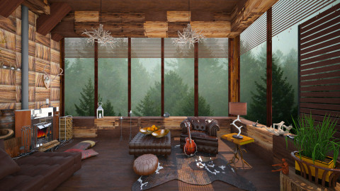 View to nature - Eclectic - Living room - by Ida Dzanovic