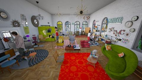 mid century vintage shop - Eclectic - by kitty