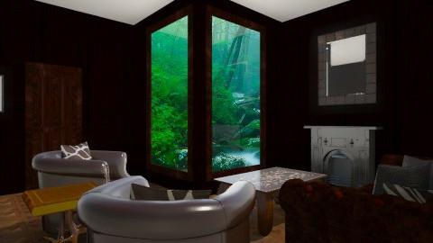 Mininal - Living room - by Vajk Grti