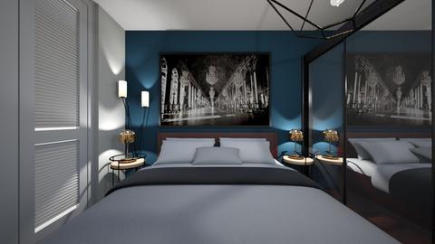 sypialnia3 - Bedroom - by kassandraslu