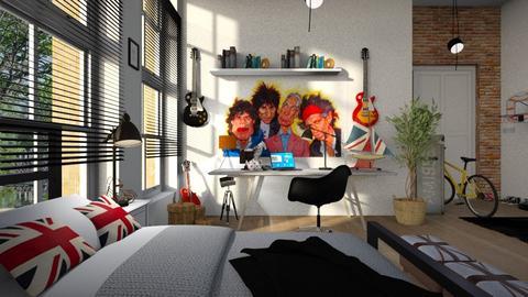 Boys_Bedroom - Bedroom - by ZuzanaDesign