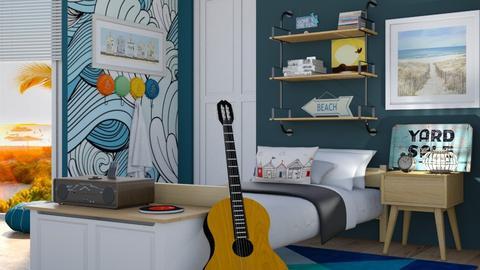 Costal Blue - Bedroom - by seth96