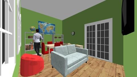 School Room - by allieanderson2004