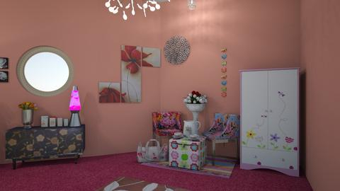The flower room - Kids room - by smitai582