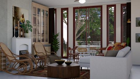 ThonetStyle - Living room - by Ebru Tekneci