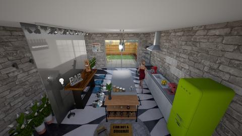 kitchen _ - Kitchen - by efi_bozika