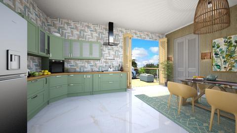 Cozinha 13 - Kitchen - by nanabpf