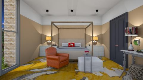 Modern French Bed - Modern - Bedroom - by 3rdfloor