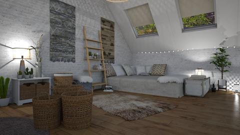 1 Boho Bedroom - Bedroom - by BFactor