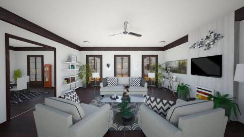 Isabella - Modern - Living room - by yourjieee