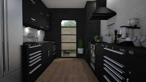 Black - Kitchen - by Tuija