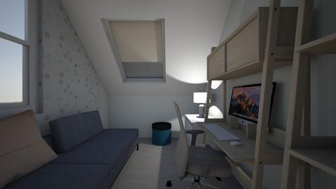 house up - Living room - by Agnieszka Do