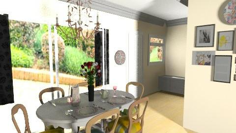 dining room final_____3 - Dining room - by bellabravis