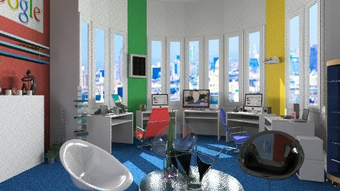 Google corner - Eclectic - Office - by shelleycanuck