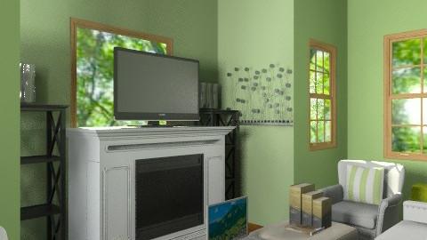Green Room - Living room - by SierraL