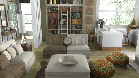 Oliva - Eclectic - Living room - by du321