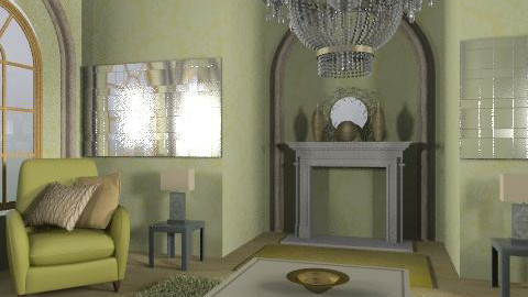 glam - Glamour - Living room - by trees designs