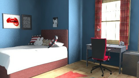 lovegirl1782 - Rustic - Bedroom - by lovegirl1782