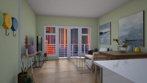 1 Bedroom Condo for RentL - Living room - by Raven Storme
