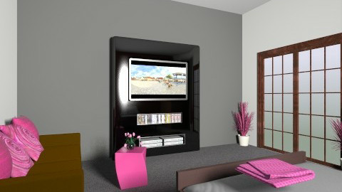 a little bit of magenta - Modern - Bedroom - by kathryn bat