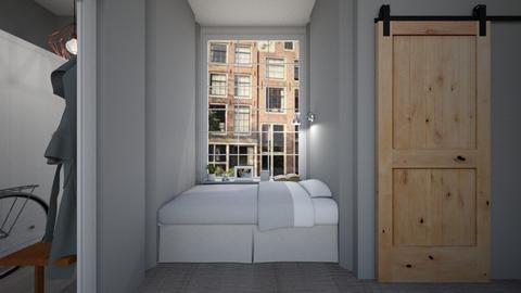 Casa153SleepingNook - Retro - Bedroom - by nickynunes