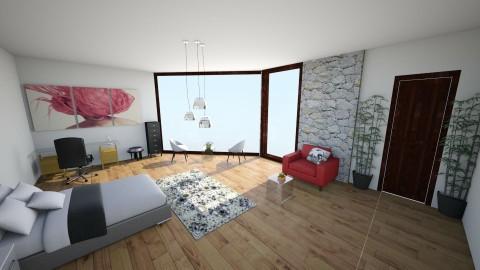 Moderny - Bedroom - by irasemaarcibar