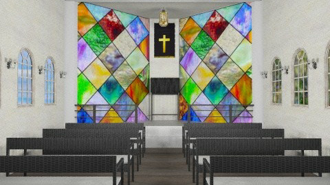 Little Texas Hill Country church - Country - by alleypea