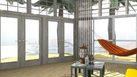 Sun Room - Rustic - Living room - by emilypinnock