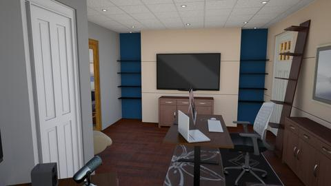 Basement 4 - Modern - Office - by heyjoshday