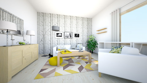 Sweet home - Minimal - Living room - by Tima Anna