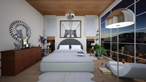 Bedroom1 - Modern - Bedroom - by swanwitch