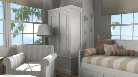 Puritan - Minimal - Bedroom - by milyca8