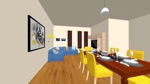 vizsga  - Dining room - by siposnora