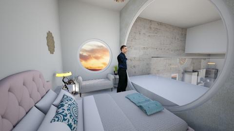 Estudio bedroom - Modern - Bedroom - by soralobo