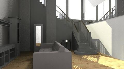 White room - Vintage - Living room - by Luizabm