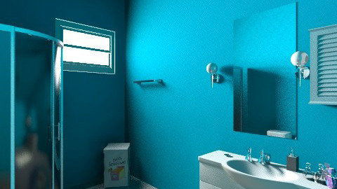 Finished 2nd _angle 2_ - Bathroom - by A_Alleya
