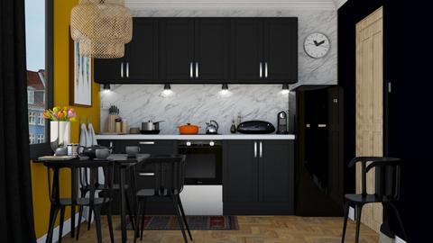 Little kitchen - Minimal - Kitchen - by HenkRetro1960