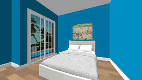 beach room - Bedroom - by tawnrena