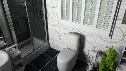 small ensuite - Classic - Bathroom - by teen bedroom
