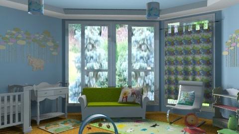 Baby Jungle - Classic - Kids room - by chloedaniella