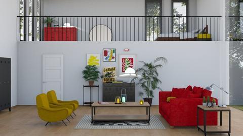 Studio - Kitchen - by sabaclayes