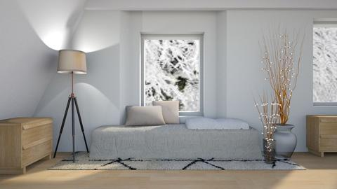 Snow Day - Modern - Bedroom - by millerfam
