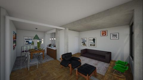 Unidad - Living room - by jupitervasconcelos