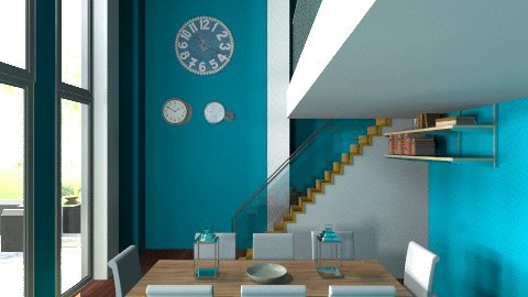this is a remix from one  - Modern - Dining room - by conrad3120