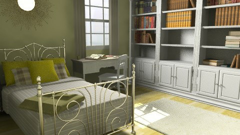 Project_Home_Bedroom_View 1 - Country - Bedroom - by giulygi