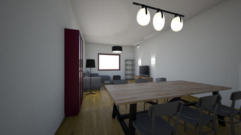 SALON - Living room - by lczernecki